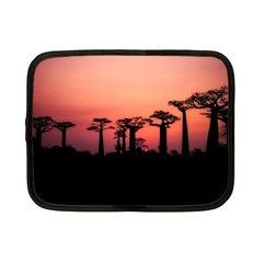 Baobabs Trees Silhouette Landscape Netbook Case (small)