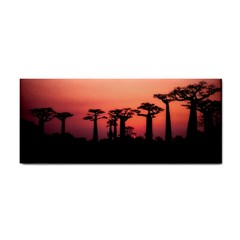 Baobabs Trees Silhouette Landscape Cosmetic Storage Cases