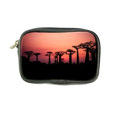Baobabs Trees Silhouette Landscape Coin Purse