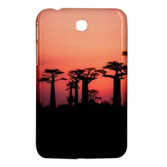Baobabs Trees Silhouette Landscape Samsung Galaxy Tab 3 (7 ) P3200 Hardshell Case