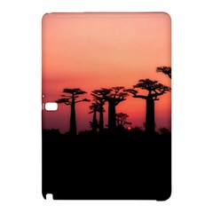 Baobabs Trees Silhouette Landscape Samsung Galaxy Tab Pro 10 1 Hardshell Case