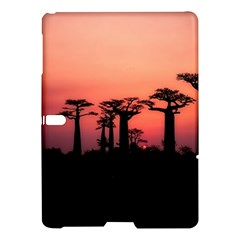 Baobabs Trees Silhouette Landscape Samsung Galaxy Tab S (10 5 ) Hardshell Case