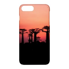 Baobabs Trees Silhouette Landscape Apple Iphone 7 Plus Hardshell Case