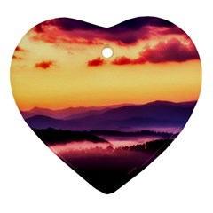 Great Smoky Mountains National Park Ornament (heart)