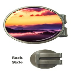 Great Smoky Mountains National Park Money Clips (oval)