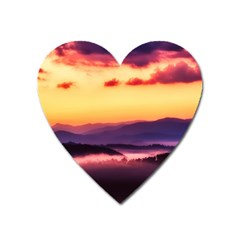 Great Smoky Mountains National Park Heart Magnet