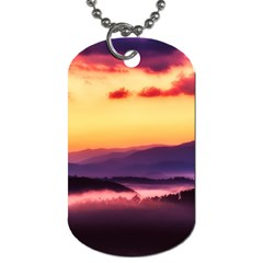 Great Smoky Mountains National Park Dog Tag (two Sides)