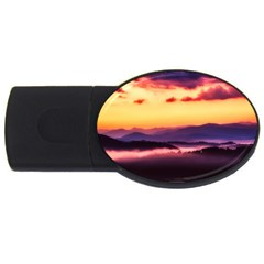 Great Smoky Mountains National Park Usb Flash Drive Oval (2 Gb)