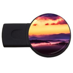 Great Smoky Mountains National Park Usb Flash Drive Round (4 Gb)