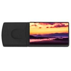 Great Smoky Mountains National Park Rectangular Usb Flash Drive
