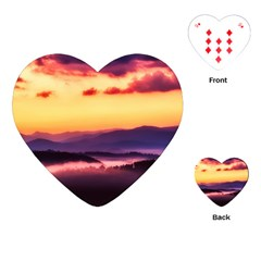 Great Smoky Mountains National Park Playing Cards (heart)
