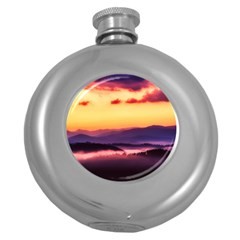 Great Smoky Mountains National Park Round Hip Flask (5 Oz)