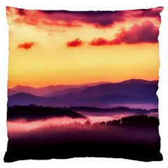 Great Smoky Mountains National Park Large Cushion Case (one Side)