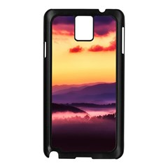 Great Smoky Mountains National Park Samsung Galaxy Note 3 N9005 Case (black)