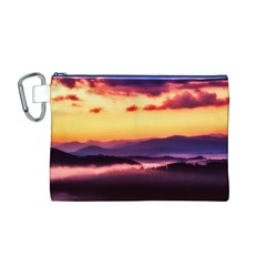 Great Smoky Mountains National Park Canvas Cosmetic Bag (m)