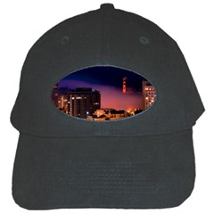 San Francisco Night Evening Lights Black Cap