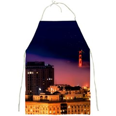 San Francisco Night Evening Lights Full Print Aprons