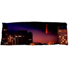 San Francisco Night Evening Lights Body Pillow Case (dakimakura)