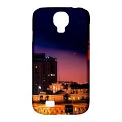San Francisco Night Evening Lights Samsung Galaxy S4 Classic Hardshell Case (pc+silicone)