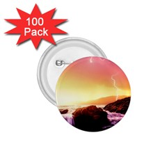 California Sea Ocean Pacific 1 75  Buttons (100 Pack)