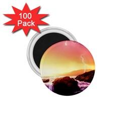 California Sea Ocean Pacific 1 75  Magnets (100 Pack)