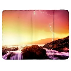 California Sea Ocean Pacific Samsung Galaxy Tab 7  P1000 Flip Case