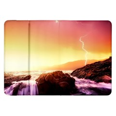 California Sea Ocean Pacific Samsung Galaxy Tab 8 9  P7300 Flip Case