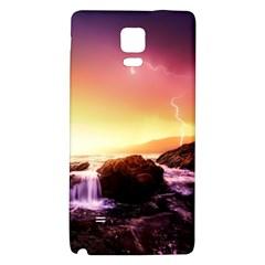 California Sea Ocean Pacific Galaxy Note 4 Back Case