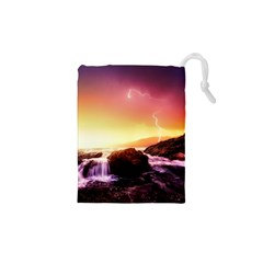 California Sea Ocean Pacific Drawstring Pouches (xs)