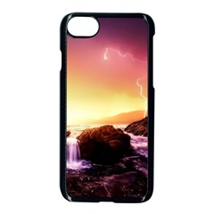 California Sea Ocean Pacific Apple Iphone 8 Seamless Case (black)