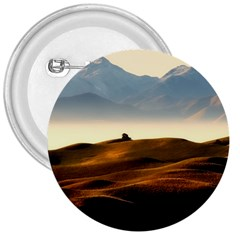 Landscape Mountains Nature Outdoors 3  Buttons
