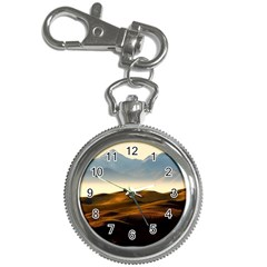 Landscape Mountains Nature Outdoors Key Chain Watches