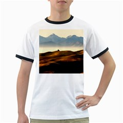 Landscape Mountains Nature Outdoors Ringer T Shirts