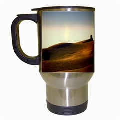 Landscape Mountains Nature Outdoors Travel Mugs (white)