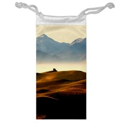 Landscape Mountains Nature Outdoors Jewelry Bag