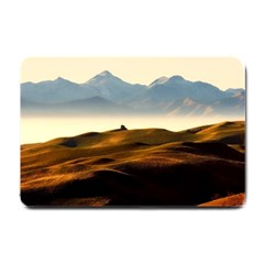 Landscape Mountains Nature Outdoors Small Doormat