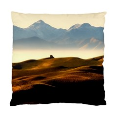 Landscape Mountains Nature Outdoors Standard Cushion Case (one Side)