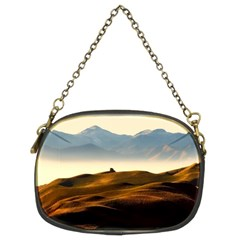 Landscape Mountains Nature Outdoors Chain Purses (two Sides)