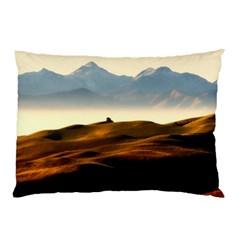 Landscape Mountains Nature Outdoors Pillow Case