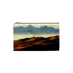 Landscape Mountains Nature Outdoors Cosmetic Bag (small)