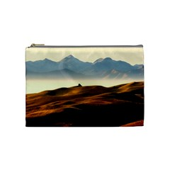Landscape Mountains Nature Outdoors Cosmetic Bag (medium)