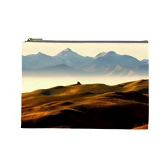Landscape Mountains Nature Outdoors Cosmetic Bag (large)