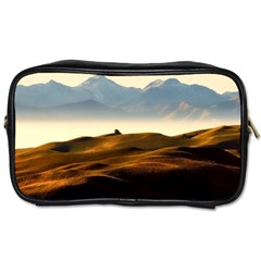 Landscape Mountains Nature Outdoors Toiletries Bags 2 Side