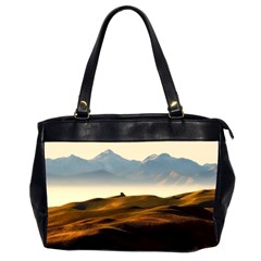 Landscape Mountains Nature Outdoors Office Handbags (2 Sides)