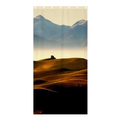 Landscape Mountains Nature Outdoors Shower Curtain 36  X 72  (stall)