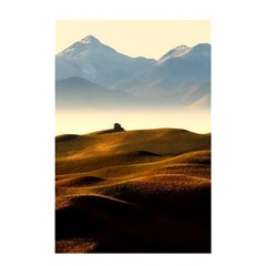 Landscape Mountains Nature Outdoors Shower Curtain 48  X 72  (small)