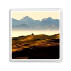 Landscape Mountains Nature Outdoors Memory Card Reader (square)