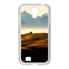 Landscape Mountains Nature Outdoors Samsung Galaxy S4 I9500/ I9505 Case (white)