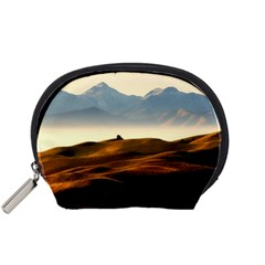 Landscape Mountains Nature Outdoors Accessory Pouches (small)