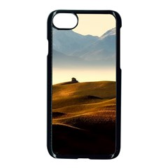 Landscape Mountains Nature Outdoors Apple Iphone 7 Seamless Case (black)